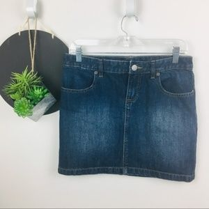 Gap Denim Mini Skirt Size 6